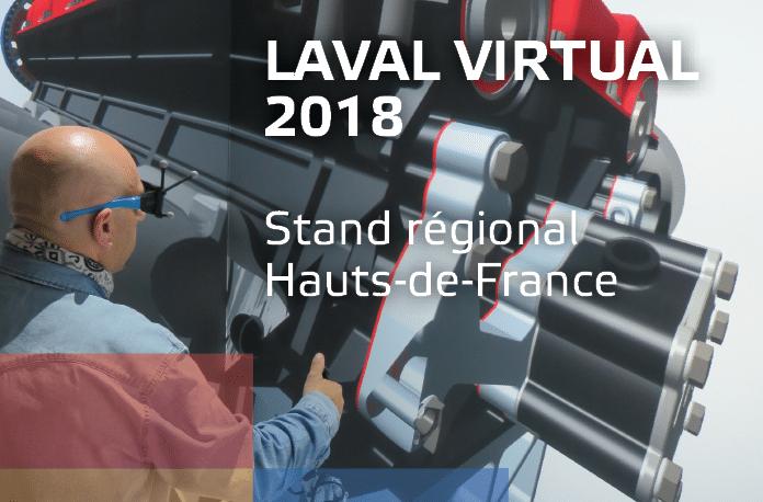 Les Hauts-de-France au salon LAVAL VIRTUAL du 4 au 6 avril 2018