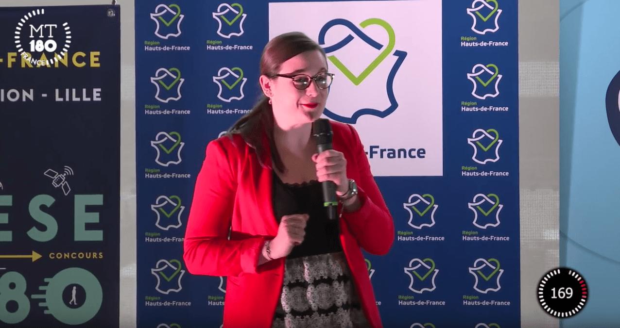Sophie KERVAZO remporte la finale régionale du concours Ma thèse en 180 secondes
