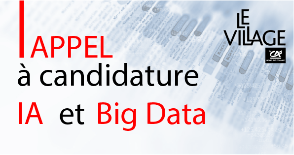 Appel à candidature IA & Big Data