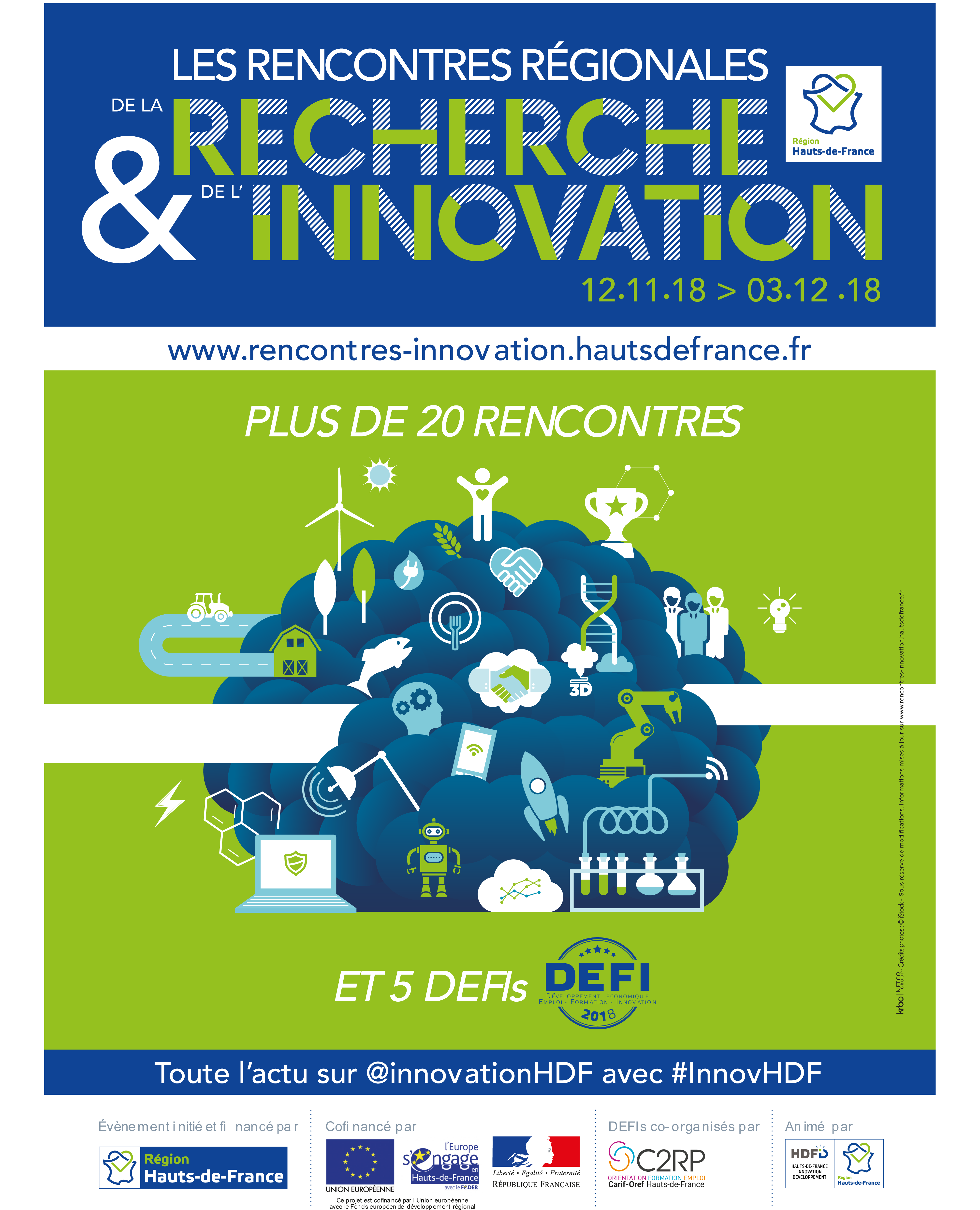 Rencontres regionales de l'innovation 2018