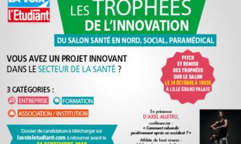 Trophées de l'Innovation du Salon Santé en Nord, Social et Paramédical