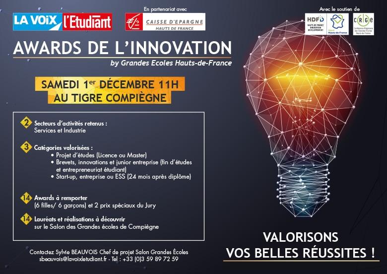 Awards de l'Innovation by Grandes écoles Hauts-De-France