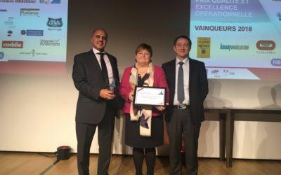 L'UVHC remporte le Prix de l'Excellence Opérationnelle