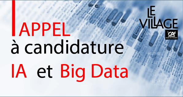Appel à candidature IA & Big Data