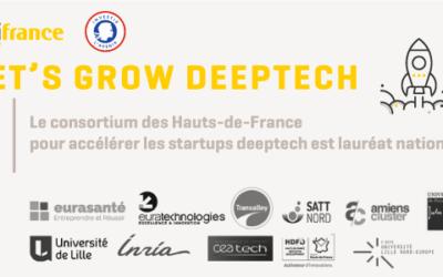 """""""Let's grow deeptech"""" Le consortium des Hauts-de-France pour accélérer les startups deeptech est lauréat national"""