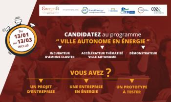 Energeia : programme ville autonome en énergie