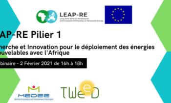 Afrique pour la recherche dans les énergies renouvelables