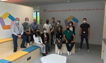 Visite du 5G Lab Orange